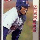 DAVID ORTIZ 1998 Score Rookie Traded #RT74.  TWINS