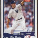 MIKE MUSSINA 2004 Fleer Tradition #158.  YANKEES