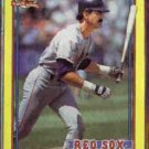 DWIGHT EVANS 1991 Topps Box Bottoms #E.  RED SOX