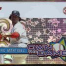 PEDRO MARTINEZ 2005 Topps Own The Game Insert #OG30.  RED SOX