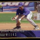 RICKIE WEEKS 2004 Upper Deck First Pitch Star Rookies #271.  BREWERS
