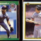 ALAN TRAMMELL 1989 Donruss #180 + 1990 Bowman #353.  TIGERS