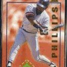 TONY PHILLIPS 1994 Pinnacle Run Creators Insert #RC11.  TIGERS