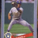 PAT LISTACH 1993 Hostess Baseballs Insert #32 of 32.  BREWERS