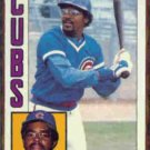 LEON DURHAM 1984 Topps Glossy #565.  CUBS
