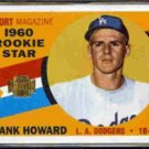 FRANK HOWARD 2001 Topps Reprint Stamp #132 / #34 of 450.  DODGERS