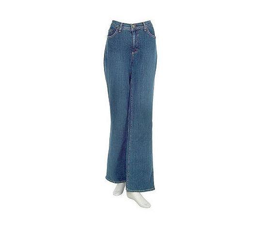 Denim & Co. Stretch Bootcut Jeans      INDIGO  10