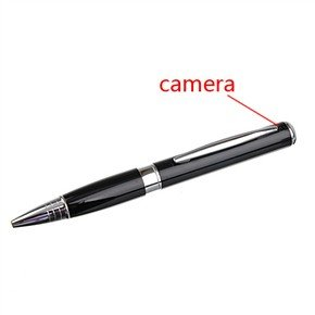 USB Rechargeable 1.3MP Pinhole Spy Camera Disguised in Ball-point Pen Style