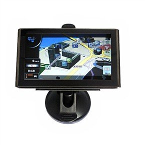 "2GB Free Map 5"" Trendy Touch Screen Car GPS Navigator with Bluetooth AV-IN"