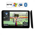 "2GB Free Map 7"" HD Portable Touch Screen Car GPS Navigator with Bluetooth AV-IN"