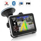 "2GB Free Map 4.3"" Portable Touch Screen Car GPS Navigator with Bluetooth AV-IN"
