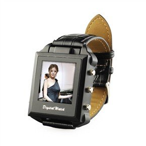 "SX888 4GB 1.3MP Pinhole Camcorder Spy Watch with 1.5"" TFT Screen"