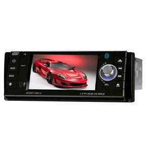 """DT-4301 4.3"""" 1 Din Good In-Dash Car DVD Player with GPS"""