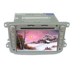 """7"""" HD Digital Touch Screen 2 Din Car DVD Player with GPS CANBUS DVB-T for VW Lavida"""
