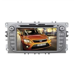 "7"" HD Digital Touch Screen 2 Din Car DVD Player with GPS DVB-T for Ford Focus/Mondeo"