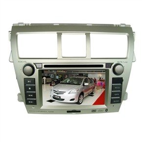 "6.2"" HD Digital Touch Screen 2 Din Car DVD Player with GPS DVB-T for TOYOTA-Vios"