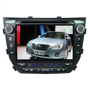 """7"""" HD Digital Touch Screen 2 Din Car DVD Player with GPS CANBUS DVB-T for BESTURN-B50"""