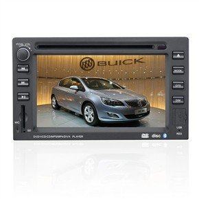 "6.2"" HD Digital Car DVD Player with GPS DVB-T for Buick Excelle"