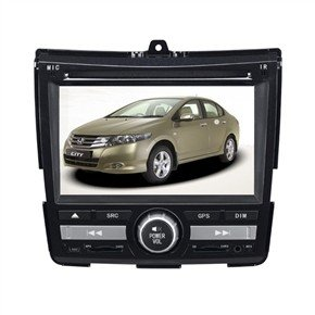 "6.2"" HD Digital Car DVD Player with GPS DVB-T for HONDA-CITY"