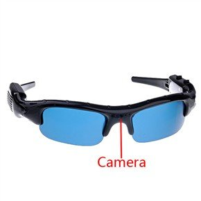 DVR68C USB Rechargeable 1.3MP Pinhole Spy Camera Sunglass with 4GB Memory