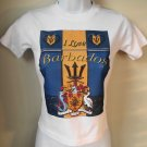 WOMEN BARBADOS GRAPHIC-TEE (S) SLEEVE