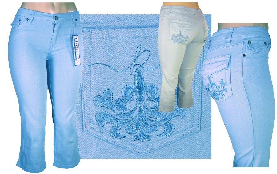 """Kaneka"" - Junior Stretch 5-Pocket Design Denim Jeans-Single Pair-Size 5"