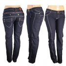 Peach Bottoms - Junior Stretch 6 Pocket Skinny Jeans-Single Pair-Size 9