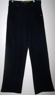 Quant Men 32 Pants Black/Flames