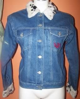 Ladies M Denim Jacket Embroidered Dalmations