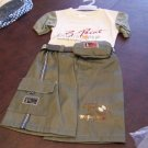 3t size large Toddlers, Boys 3 piece short set by Ha Ha NWOT