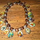 Set of Two Religious Charm Bracelet