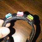 Evil Eye Protection Leather Bracelet