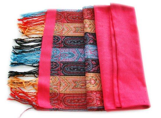 tibetan mercerized cotton  scarf tibetan scheme of three colors