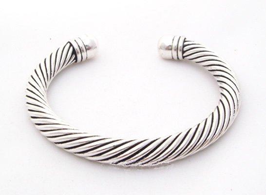 miao silver jewelry bracelet twisting wires