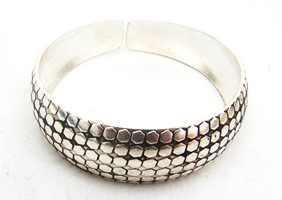 miao silver jewelry bracelet�multiple squares
