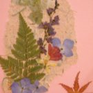 Hydrangea~maple leaf card