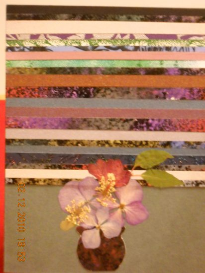 Paper Strips & Flowers