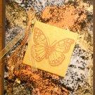Metallic Butterfly Card
