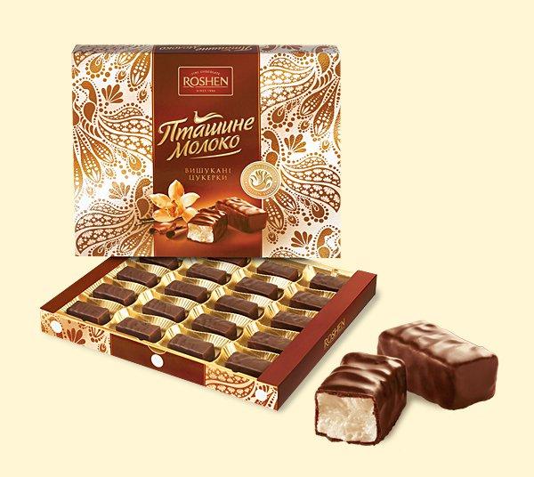 """Ptashyne Moloko Roshen"" 250 g.- Chocolate in Gift box"