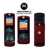 Motorola Rizr Z3 Red Cellular Phone (Unlocked)