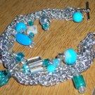 Chain Turquoise Bracelet
