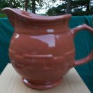 NO FREE SHIPPING-LONGABERGER SPICE 2 QUART PITCHER  ~NIB