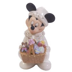 NO FREE SHIPPING-LONGABERGER BASKETS LENOX DISNEY MICKEY MOUSE - NEW