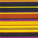 1 YARD LONGABERGER AUTUMN STRIPE FABRIC ~ NEW