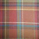NO FREE SHIPPING-5 YARDS LONGABERGER TOBOSO PLAID FABRIC ~ NEW