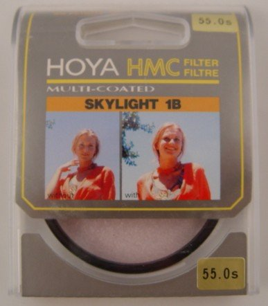 New Hoya Multi-coated Skylight 1B 55mm Filter
