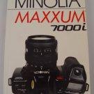 Hove Foto Complete Users Guide for Minolta Maxxum 7000i