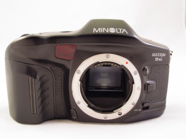 Minolta Maxxum 9xi Pro Body Mint! As New! 9 xi