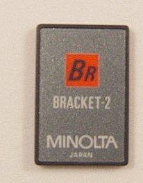 Minolta Maxxum Exposure Bracket 2 Program Card for 7xi, 9xi, 700si