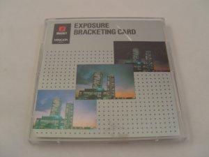 Minolta Maxxum Exposure Bracket Program Card for 5xi, 7xi, 9xi, 700si